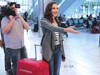 אתגר המזוודות של קסטרו / צילום: יחצ