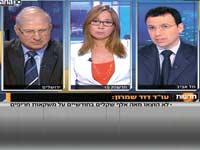 העימות בין רביב דרוקר  לבין עורך דין דוד שימרון / צילום מסך