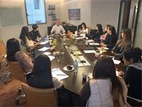 פגישת פורום נשים ערביות בהייטק שהקימה בסמה חלף / צילום: דוברות אינטל