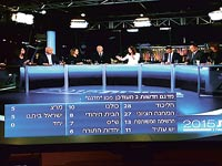 משדר החדשות של ערוץ 2 / צילום: תמר מצפי