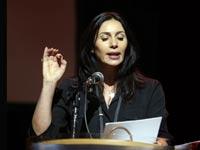 מירי רגב בטקס פרסי התיאטרון / צילום: איציק בירן