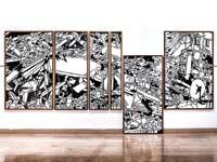 עבודה שלנועה יקותיאלי/ צילום:ברק ברינקר