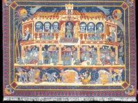 """""""שטיח של בנק הפועלים"""" - עבודה של עידו מיכאלי / צילום: באדיבות מוזיאון ישראל"""