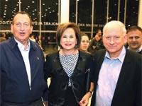 יאיר סרוסי, נאוה ברק ורון חולדאי / צילום: איציק בירן