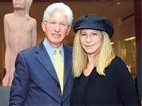 ברברה סטרייסנד עם ג'יימס סניידר/ צילומים: ג'ק גורן ובאדיבות מוזיאון ישראל