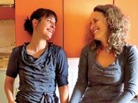 מהמופע של לי לוריאן ודפנה ארגמן / צילום: דניאל קרונברג
