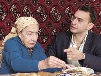 חי דוידוב וסבתו / צילום:יחצ