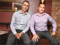 פול קליין ויהודה בן אסייג  / צילום:תמר מצפי