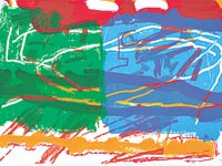 ציור של לאה  ניקל /  צילום: יחצ