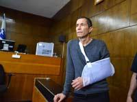 אלי טביב בבית המשפט / צלם: תמר מצפי