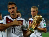 נבחרת גרמניה זוכה בגביע העולמי, מונדיאל 2014 / צלם: רויטרס