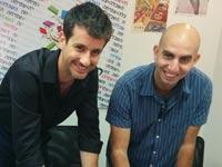 גלעד ארדיטי ואסף אנגל / צילום: התאחדות הסטודנטים והסטודנטיות