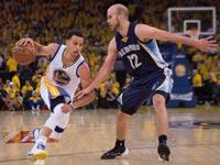 גולדן סטייט מול ממפיס, פלייאוף 2015 ב-NBA / צלם: רויטרס
