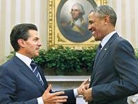 ברק אובמה ו אנריקה פנייה-נייטו / צילום: רויטרס