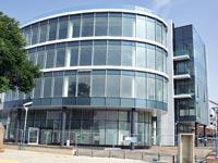 בניין המשרדים בהרצליה אליו מתוכננים לעבור משרדי דלק / צילום: תמר מצפי