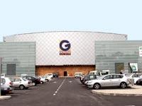 מרכז מסחרי של גזית גלוב / צילום: סיון פרג'
