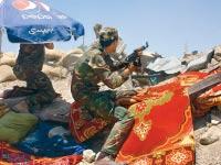 חזית הלחימה מול דאעש בעירק / צילום: ג'ונתן ספייר