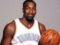 קנדריק פרקינס, NBA / צלם: רויטרס