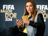 הכדורגלנית הברזילאית מרתה / צלם: רויטרס
