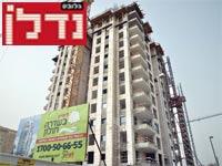 בנייה בחולון / צילום: תמר מצפי