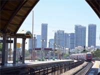 תחנת הרכבת - תל אביב אוניברסיטה / צילום: תמר מצפי