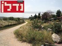 שטח המחלוקת ליד צור יגאל / צילום: איל יצהר
