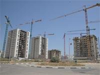 בנייה בפתח תקווה / צילום: תמר מצפי