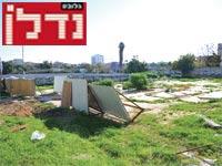 המגרש ברחוב החרש בתל אביב / צילום: תמר מצפי