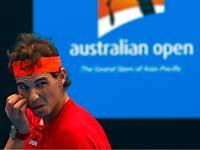 רפאל נדאל, אליפות אוסטרליה, טניס / צלם: רויטרס