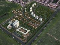 תכנית מגורים רשות מקרקעי ישראל בנס ציונה / הדמייה: רשות מקרקעי ישראל
