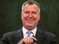 ביל דה בלסיו- ראש עיריית ניו יורק / צילום: רויטרס