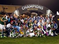 פורטלנד טימברס חוגגת זכייה באליפות ה-MLS לעונת 2015 / צלם: רויטרס