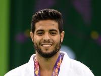 שגיא מוקי זוכה במדליית זהב באקו 2015 / צילום: באדיבות הוועד האולימפי בישראל