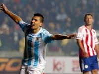 סרחיו אגוארו, נבחרת ארגנטינה / צלם: רויטרס