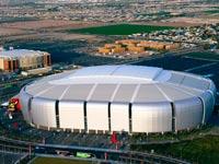 אצטדיון הפוטבול בגלנדייל שבאריזונה / צילום: רויטרס