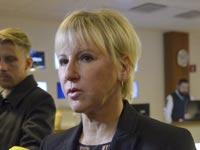 מרגרט וולסטרום, שרת החוץ של שבדיה / צילום: רויטרס