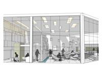 טרמינל חדש / הדמיה: יחצ - רשות שדות התעופה