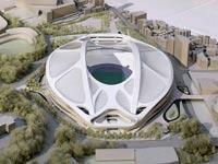 האצטדיון המתוכנן של משחקי טוקיו 2020 / צלם: רויטרס