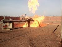 פיצוץ צינור הגז הישראלי-מצרי / צילום: רויטרס