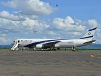 מטוס אל על / צילום: תמר מצפי