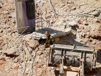 קריסת המבנה ברמת החייל / צילום: שלומי יוסף