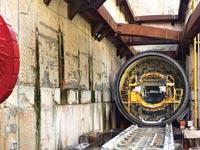 TBM הרכבת הקלה מתחת לנתיבי איילון / צילומים: רפי קוץ
