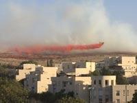 שריפה מודיעין/ צילום: דני אברמוביץ