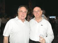 גדעון ויאיר המבורגר / צילום: תמר מצפי