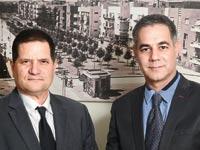 עורכי הדין ערן לאופמן וניר בן חמו / צילום: איל יצהר