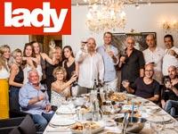 הדר גולדמן ואורחים / צילום: רמי זרנגר