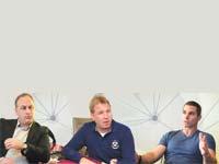 יובל עובדיה, STI, רון עצמון, AU10TIX וטל בר–אור, Octopus / צילום: תמר מצפי