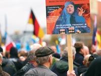 גרמניה סוערת / צילום: רויטרס