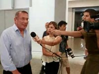 נוחי דנקנר מגיע להכרעת הדין / צילום: מהוידאו
