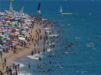 חוף, טביעה צילום: רויטרס